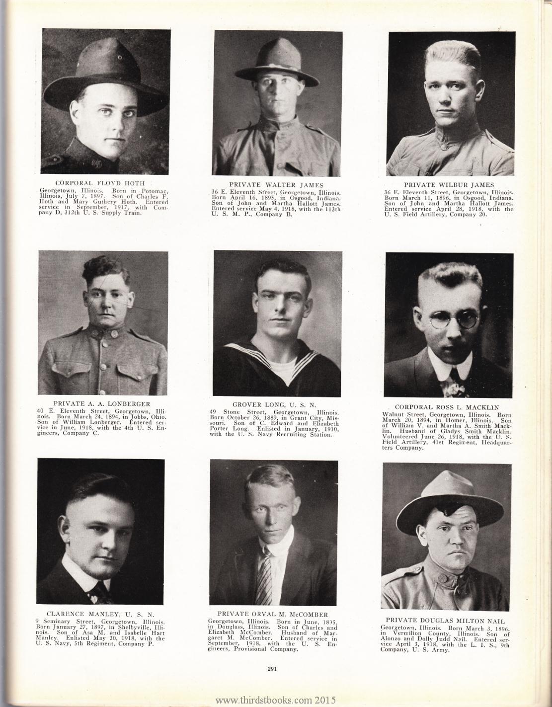 Illinois vermilion county muncie -  Douglas Milton Nail Page 291