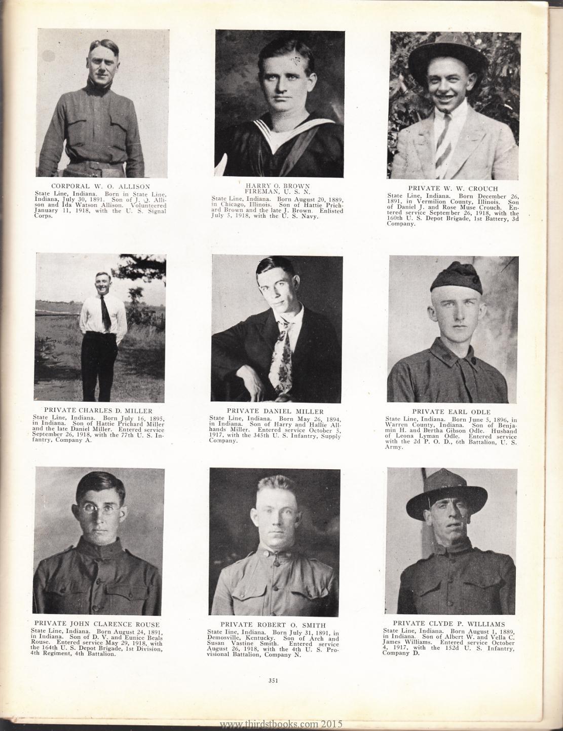Illinois vermilion county muncie - W O Allison Page 351